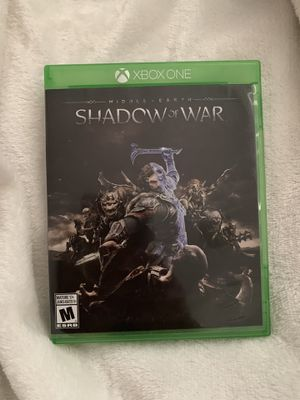 Xbox shadow of war for Sale in Santa Maria, CA