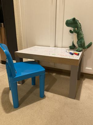 Kids Tots Table! With Chair! Color on Me Table! for Sale in Clovis, CA