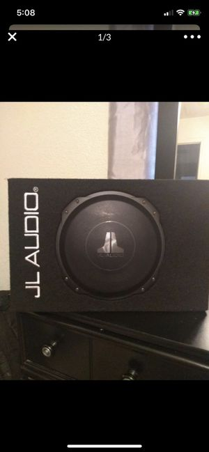 Jl audio 10in shallow subwoofer for Sale in Surprise, AZ
