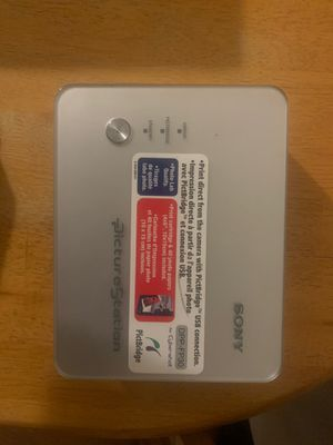 Sony digital photo printer for Sale in Cumberland, RI