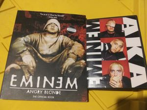 eminem dvd and book for Sale in Los Angeles, CA