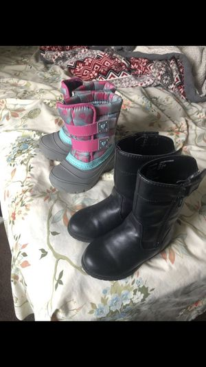 Boots Size 7 For Girls for Sale in Winston-Salem, NC
