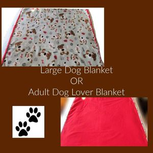 Large Dog Blanket or for yourself for Sale in Keystone, SD