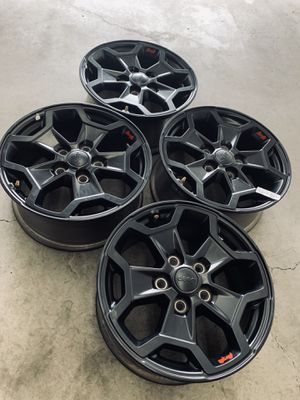 Jeep Gladiator Rubicon Wheels Rims Rines Launch Edition 2020 for Sale in Gardena, CA