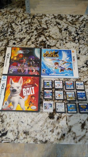 Nintendo DS and 3ds games for Sale in Auburn, CA