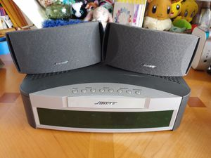 Bose 321 series 1 no wires media center and 2 speakers only for Sale in St. Petersburg, FL