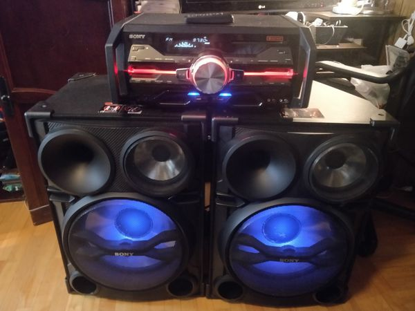 Sony Dj   House Stereo Hcd-sh2000 And Ss-sh2000 For Sale In Lebanon  Pa