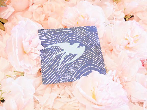 Blue Bird Fabric Quarter 18in x 21in 100% COTTON