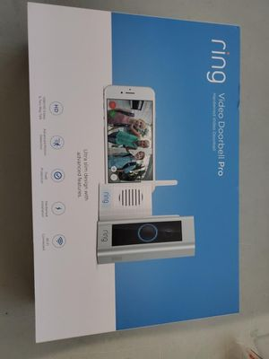 Ring video doorbell pro with chime for Sale in Jurupa Valley, CA