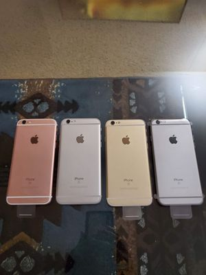 iPhone 6S 64GB UNLOCKED ALL CARRIERS ALL COUNTRIES for Sale in Jurupa Valley, CA