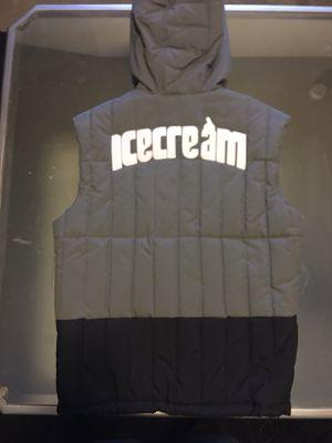Ice Cream Billionaire Boys Club Down Hoodie Vest size Small supreme travis scott for Sale in Dallas, TX