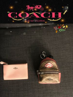 COACH - I'D WALLET, KEYCHAIN BACKPACK - AUTHENTIC / NEW for Sale in Ontario, CA