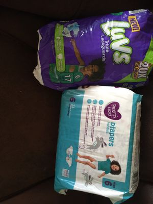 Diaper size 6 for Sale in Chesterfield, MO