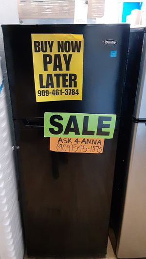 ⭐small Black Danby refrigerator 💲BUY NOW PAY LATER💲 ❌NO CREDIT NEEDED❌❕$0 Downpayment❕🚚We Deliver🦋ASK FOR ANNA FOR DISCOUNT🦋 for Sale in Covina, CA