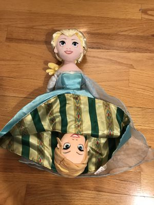 Anna/Elsa reversible doll for Sale in Elmhurst, IL
