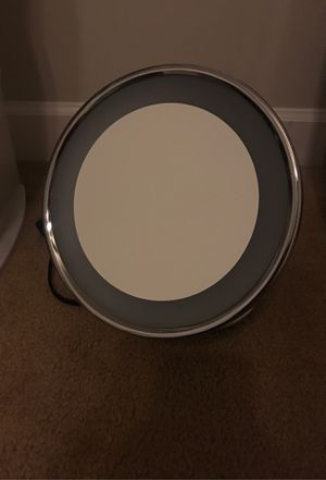 Conair makeup magnifying light up mirror! for Sale in Laurel, MD