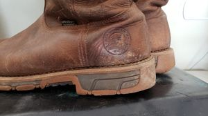 Red wings boots Irish setter size 14 for Sale in San Antonio, TX