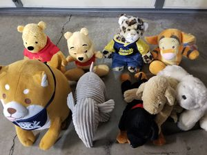 Variety of stuffed animals. for Sale in Anaheim, CA