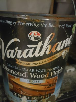 Varathane Crystal Clear Waterborne Diamond Wood Finish for Sale in Fontana, CA