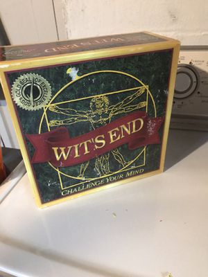Game Board Witts End for Sale in Kirtland, OH