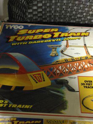 Tyco super turbo train set for Sale in Warwick, RI