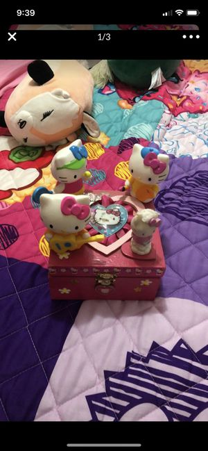 Hello kitty jewelry box kids for Sale in Poway, CA