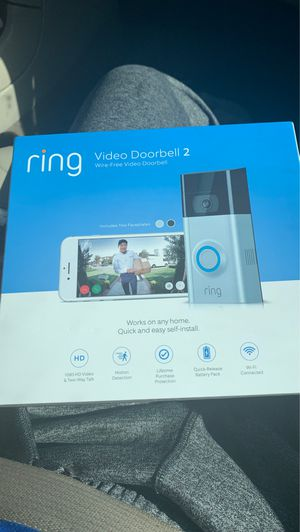 Ring 2 Video Doorbell for Sale in Kennesaw, GA