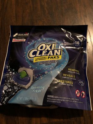 Oxi clean for Sale in Dallas, TX