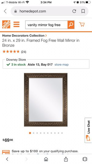 Mirror for Sale in Downey, CA