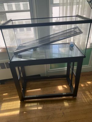 Tank with stand for Sale in Chelsea, MA
