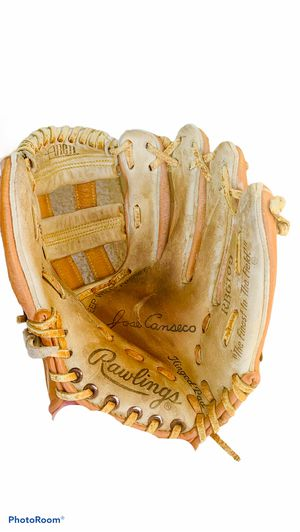Left Handed Rawlings Jose Conseco Leather Baseball Glove for Sale in Austin, TX