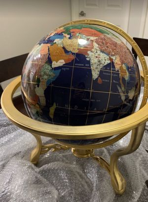 Antique Globe Full Rotating w/Compass for Sale in Burbank, CA