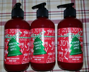 Winter candy apple hand soaps for Sale in Dallas, TX