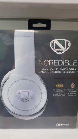 NCREDIBLE bluetooth headphones for Sale in Silver Spring, MD