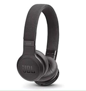 JBL On Ear Headphones Live 400BT Black Wireless Bluetooth Cushion Auriculares Audífonos Inalámbricos Negros for Sale in Virginia Gardens, FL