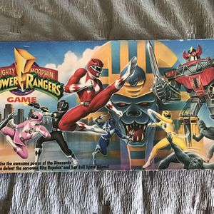 Mighty Morphin Power Ranger Board game (complete) for Sale in Providence, RI