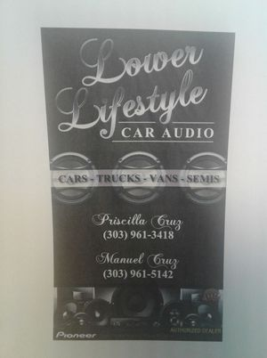 Car audio for Sale in Aurora, CO