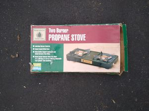 Two burner propane stove for Sale in Prospect, CT