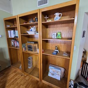 Large Book Case And Shelves for Sale in Visalia, CA