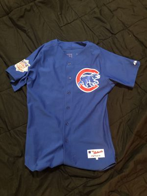 Derrick Lee Authentic Throwback Cubs Jersey Size Large (44 length) for Sale in Woodway, WA