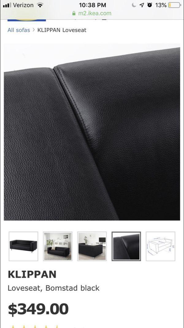 Ikea klippan sofa/love seat