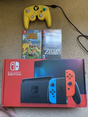 Nintendo Switch plus games and controller for Sale in Denver, CO