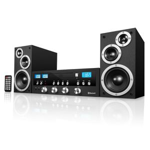 Bluetooth Home Speaker Stereo System CD FM Radio Aux for home, bedroom, School, office for Sale in Henderson, NV