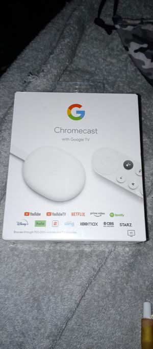 Chromecast with Google TV for Sale in Portland, OR