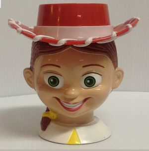 Jessie Cowgirl Plastic Drinking Cup Disney Pixar Toy Story Character for Sale in Pembroke Pines, FL