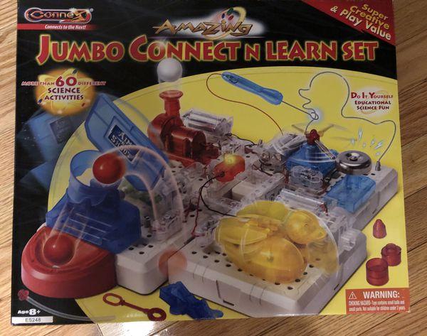 jumbo connect n learn set
