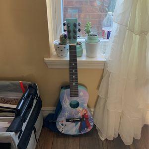 Girls Frozen Guitar for Sale in El Paso, TX