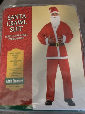Santa crawl size adult new never used for Sale in Oceanside, CA