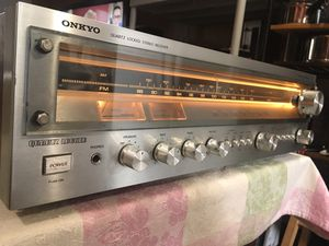 Onkyo Vintage Receiver $170 for Sale in Oakland, CA