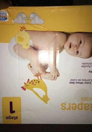 Baby Pampers size 1 for Sale in Atlanta, GA